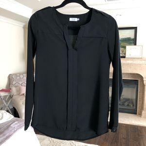 tobi // black blouse